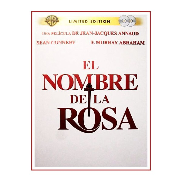 EL NOMBRE DE LA ROSA EDICION ESPECIAL 2 DISCOS DVD ESTUCHE METALICO