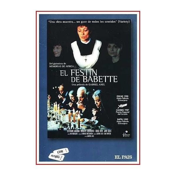 EL FESTÍN DE BABETTE 1987 DVD Siglo XIX, Cocina
