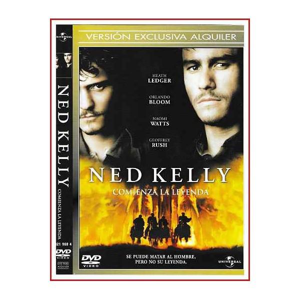 NED KELLY DVD 2003 Dirección Gregor Jordan