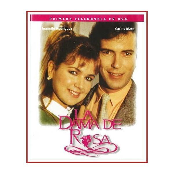 LA DAMA DE ROSA (VOLUMEN 4 - 169 A 228) PRIMERA TELENOVELA EN DVD