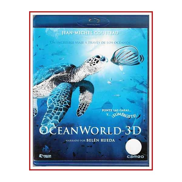 OCEAN WORLD BLU RAY 3D 2009 Dirigida por Jean-Jacques Mantello