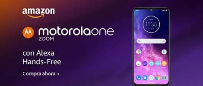 Motorola One Zoom con Alexa Hands-Free